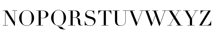 Didot Font UPPERCASE