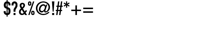 DIN 1451 EngSchrift Font OTHER CHARS