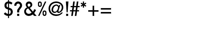 DIN 1451 MittelSchrift Font OTHER CHARS
