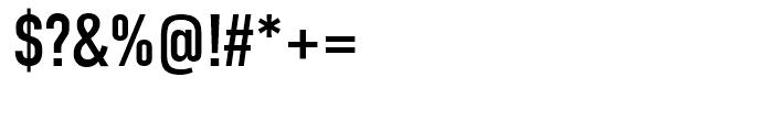 DIN Condensed Regular Font OTHER CHARS