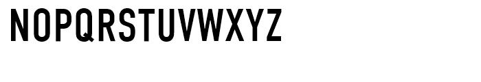 DIN Condensed Regular Font UPPERCASE