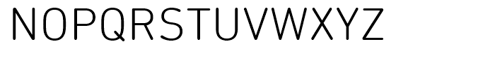 DIN Next Rounded Light Font UPPERCASE
