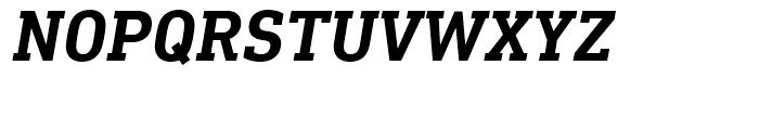 DIN Next Slab Bold Italic Font UPPERCASE
