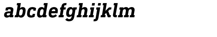 DIN Next Slab Bold Italic Font LOWERCASE