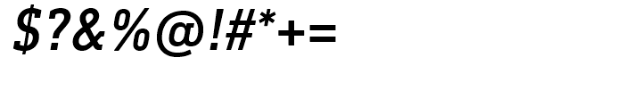 DIN Next Slab Medium Italic Font OTHER CHARS