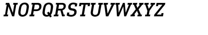 DIN Next Slab Medium Italic Font UPPERCASE