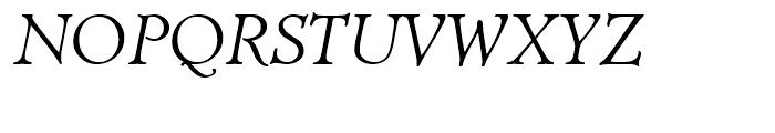 Diaconia Old Style Italic Font UPPERCASE