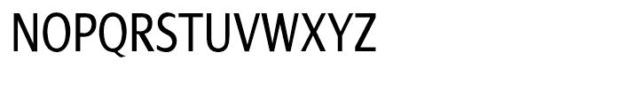 Dialog Condensed Roman Font UPPERCASE