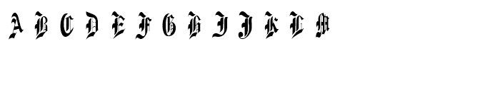 Diamond Monogram Two Characters Font UPPERCASE