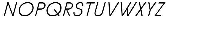 Diamonds Light Italic Font UPPERCASE