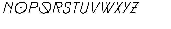 Diamonds Light Italic Font LOWERCASE