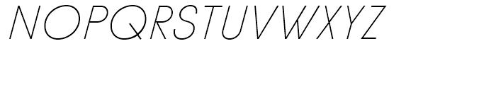Diamonds Thin Italic Font UPPERCASE