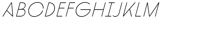 Diamonds Thin Italic Font LOWERCASE