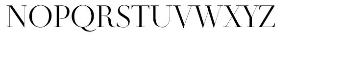 Didot Display Regular Font UPPERCASE