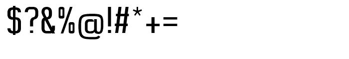 Digi Bo Text Regular Font OTHER CHARS