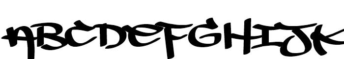 Dim Basic Regular Font UPPERCASE