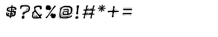 Dimeotype Oblique Font OTHER CHARS