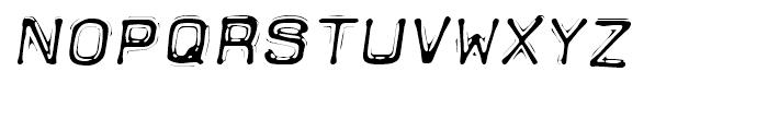 Dimeotype Oblique Font LOWERCASE