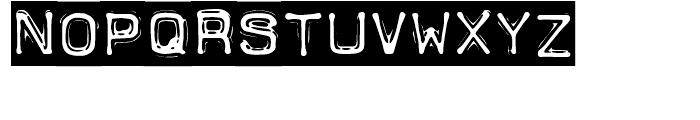 Dimeotype Tape Font LOWERCASE