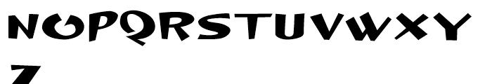 Dingle Hopper Regular Font UPPERCASE