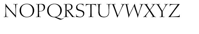 Diotima Classic Light Font UPPERCASE