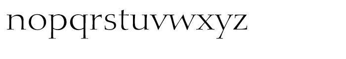 Diotima Classic Light Font LOWERCASE
