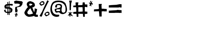 Dirt Devil Regular Font OTHER CHARS