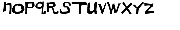 Dirt Devil Regular Font LOWERCASE