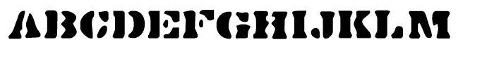 Dirty Bakers Dozen Regular Font UPPERCASE