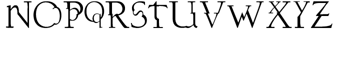 DisSonus X Regular Font UPPERCASE