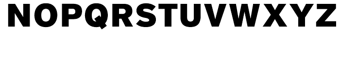 District Black Font UPPERCASE