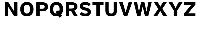 District Bold Font UPPERCASE