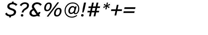 District Medium Italic Font OTHER CHARS