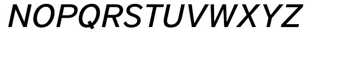 District Medium Italic Font UPPERCASE