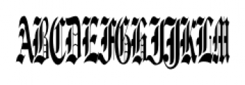 Diamond Monogram Three Characters Font UPPERCASE