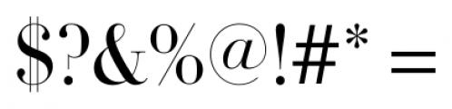 DietDidot Regular Font OTHER CHARS