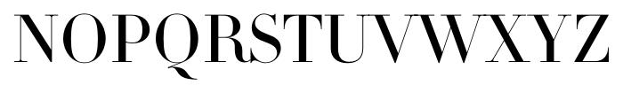 DietDidot Regular Font UPPERCASE