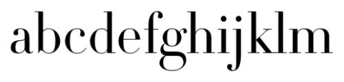 DietDidot Regular Font LOWERCASE