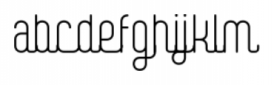 Digital Kauno fenotype Font LOWERCASE
