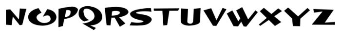 DingleHopper Regular Font UPPERCASE