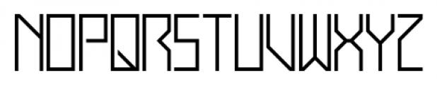 Display Exquisite Regular Font UPPERCASE
