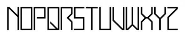 Display Exquisite Regular Font LOWERCASE