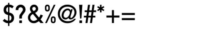 DIN 1451 Com MittelSchrift Font OTHER CHARS