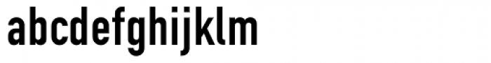 DIN 1451 EF Eng Alt Font LOWERCASE