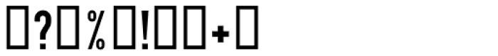 DIN 1451 EF Eng Neu Font OTHER CHARS