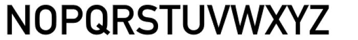 DIN 1451 Mittelschrift Alternative Font UPPERCASE
