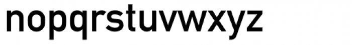 DIN 1451 Mittelschrift Alternative Font LOWERCASE