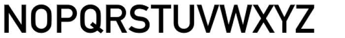 DIN 1451 Paneuropean MittelSchrift Font UPPERCASE