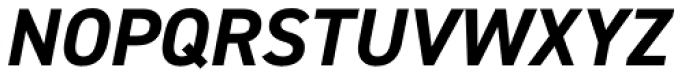 DIN 2014 Bold Italic Font UPPERCASE