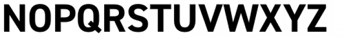 DIN 2014 Bold Font UPPERCASE